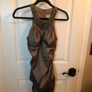 Cache taffeta evening dress